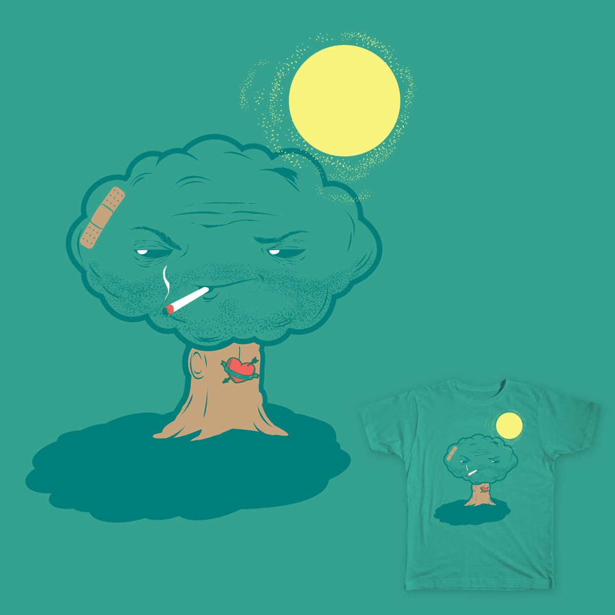 That tree looks shady. by dnice25 on Threadless