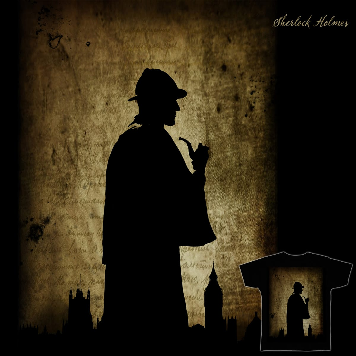A Study in Silhouette by Jmonsell on Threadless