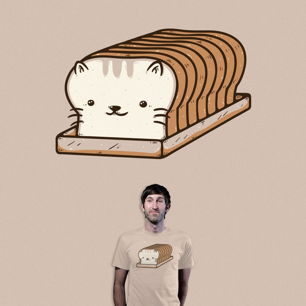 Breading Cat by Robo Rat on Threadless