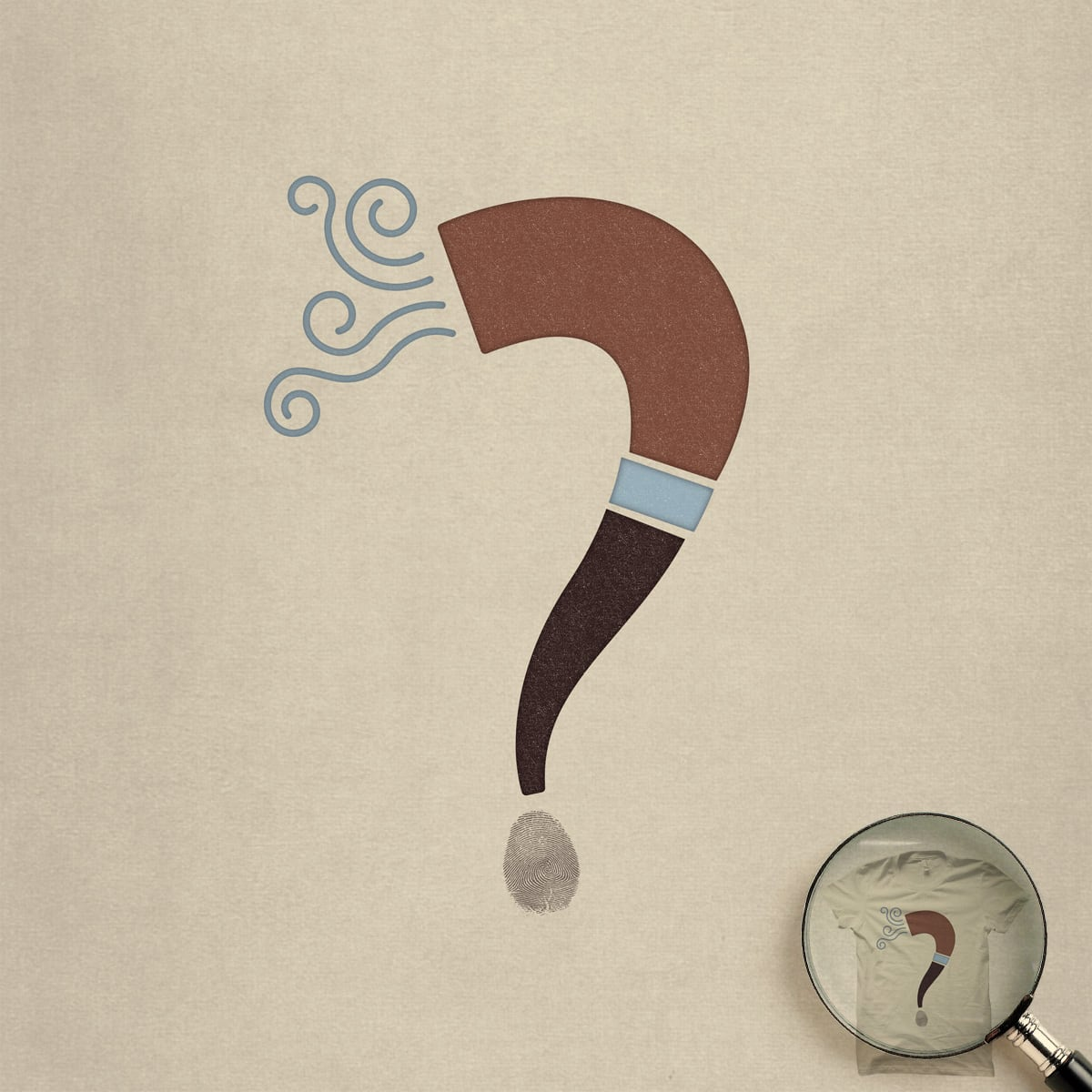 Burning Question by quick-brown-fox on Threadless