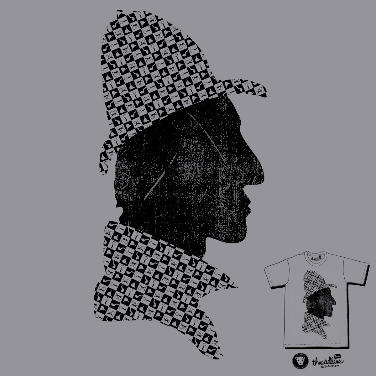 A Very Sherlock Pattern by NJ Orange-Man on Threadless