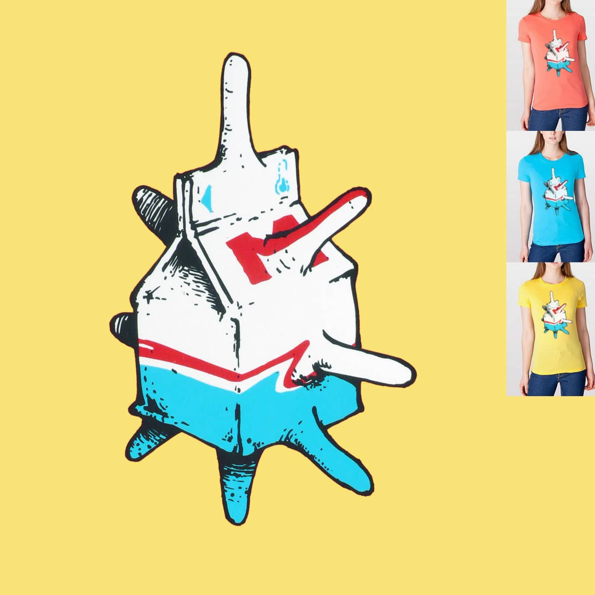 Mmmmmetaphor! by danrule on Threadless