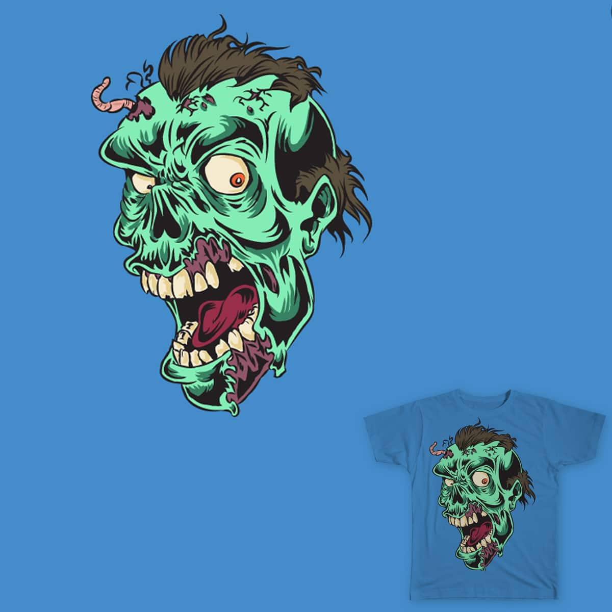 I'd rather be Undead by OhRawd on Threadless