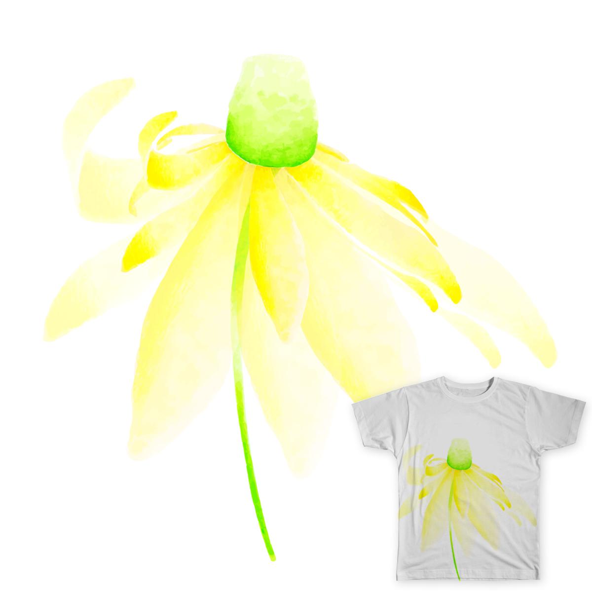 Flower of the sun by crsleigh on Threadless