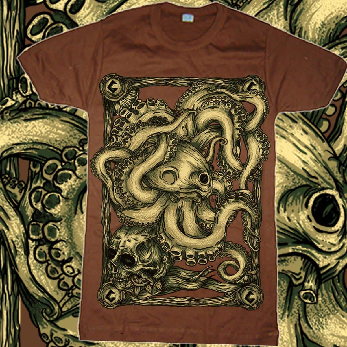 octopus by gupikus on Threadless