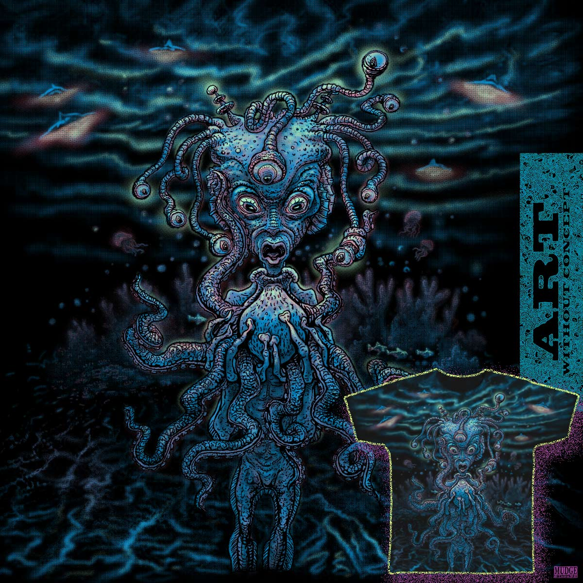 Octo Alien by MudgeStudios on Threadless