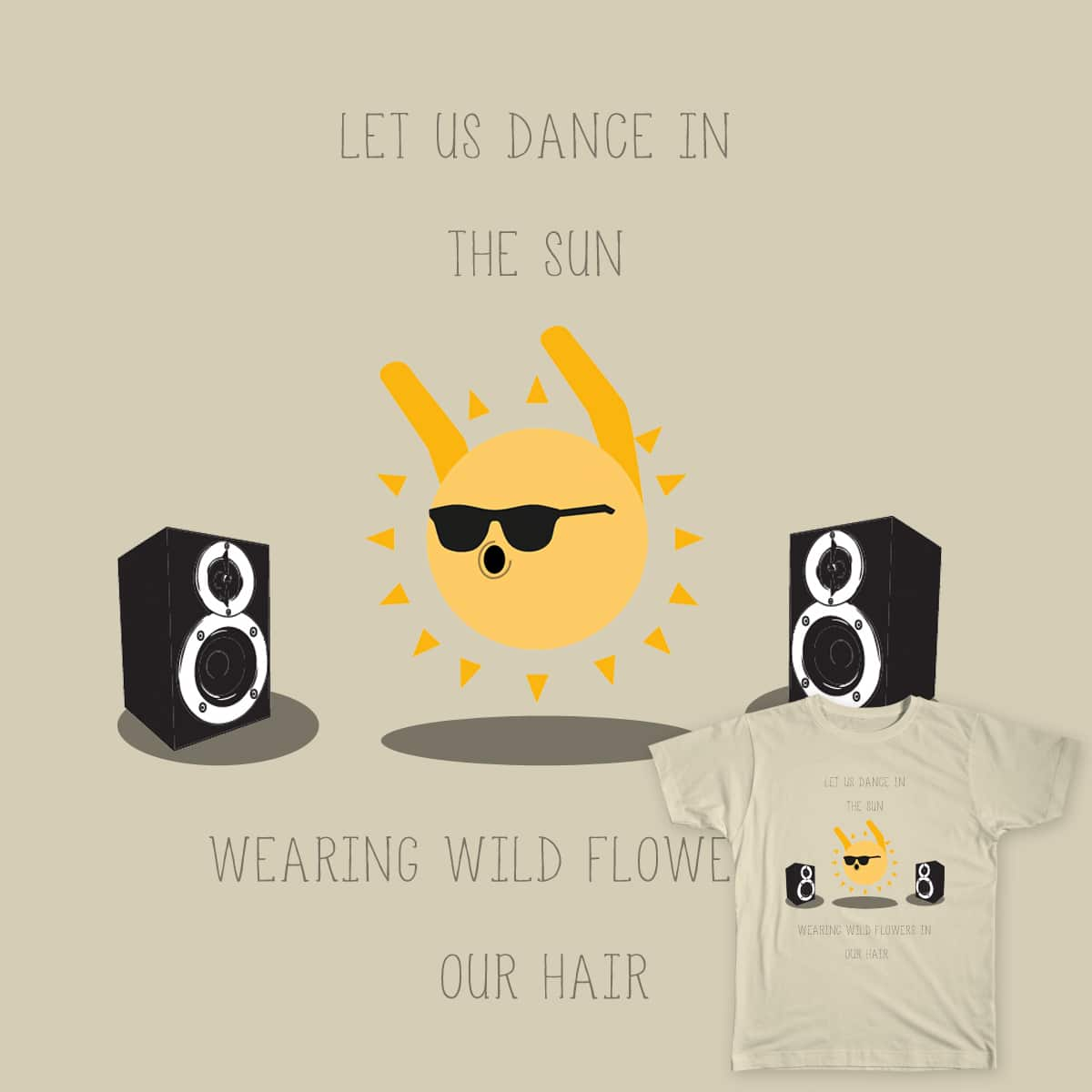 Dancing in the Sun by piuseliezer on Threadless