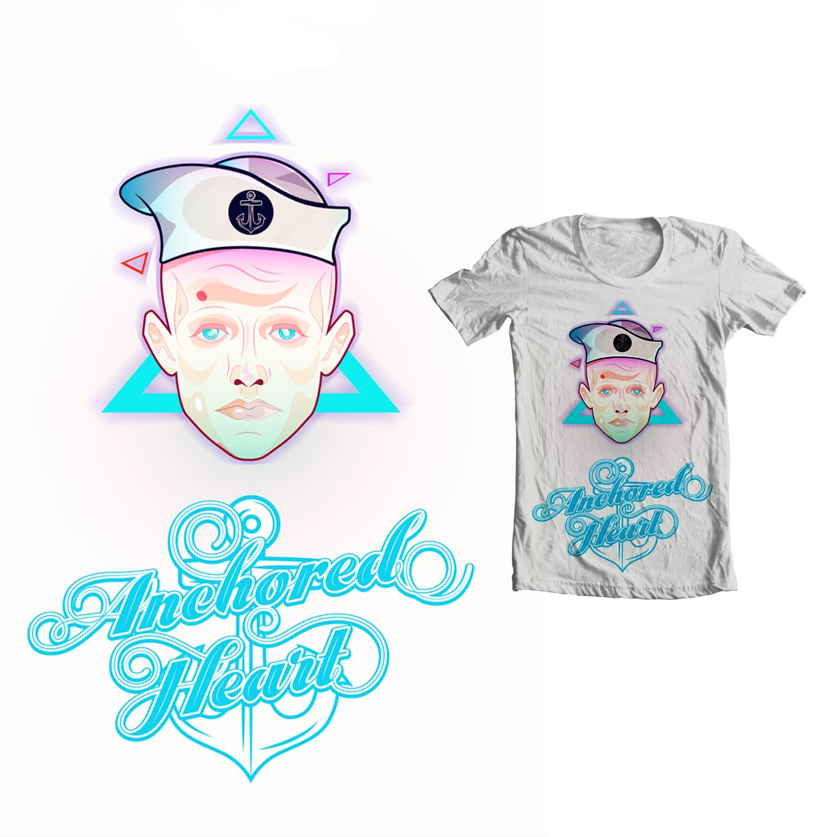 Anchored Heart by Pellisco on Threadless