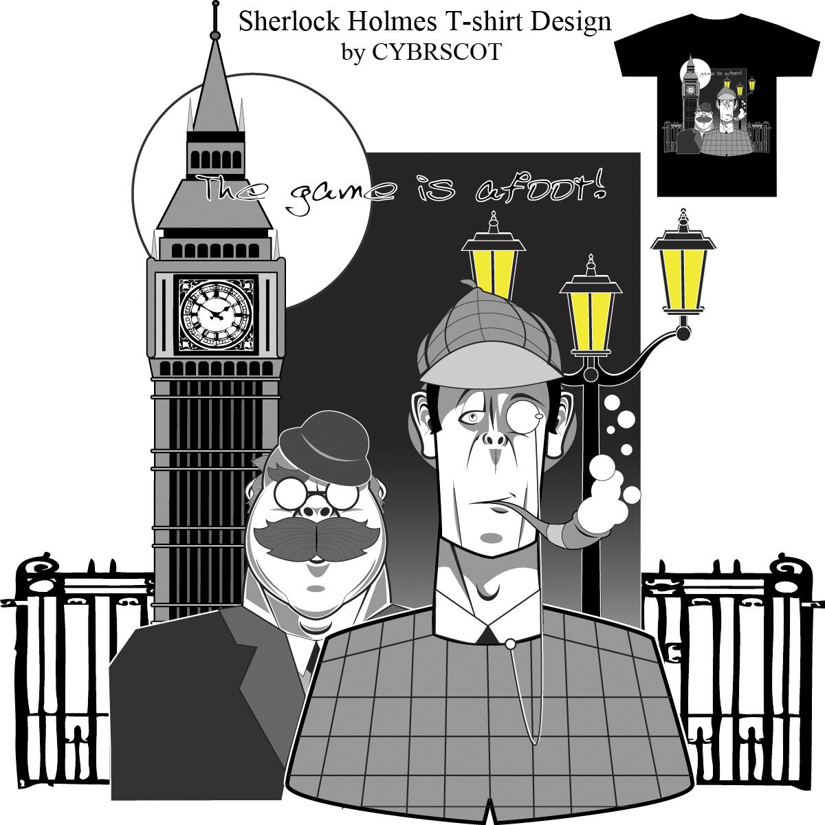 Holmes & Watson by CYBRSCOT on Threadless