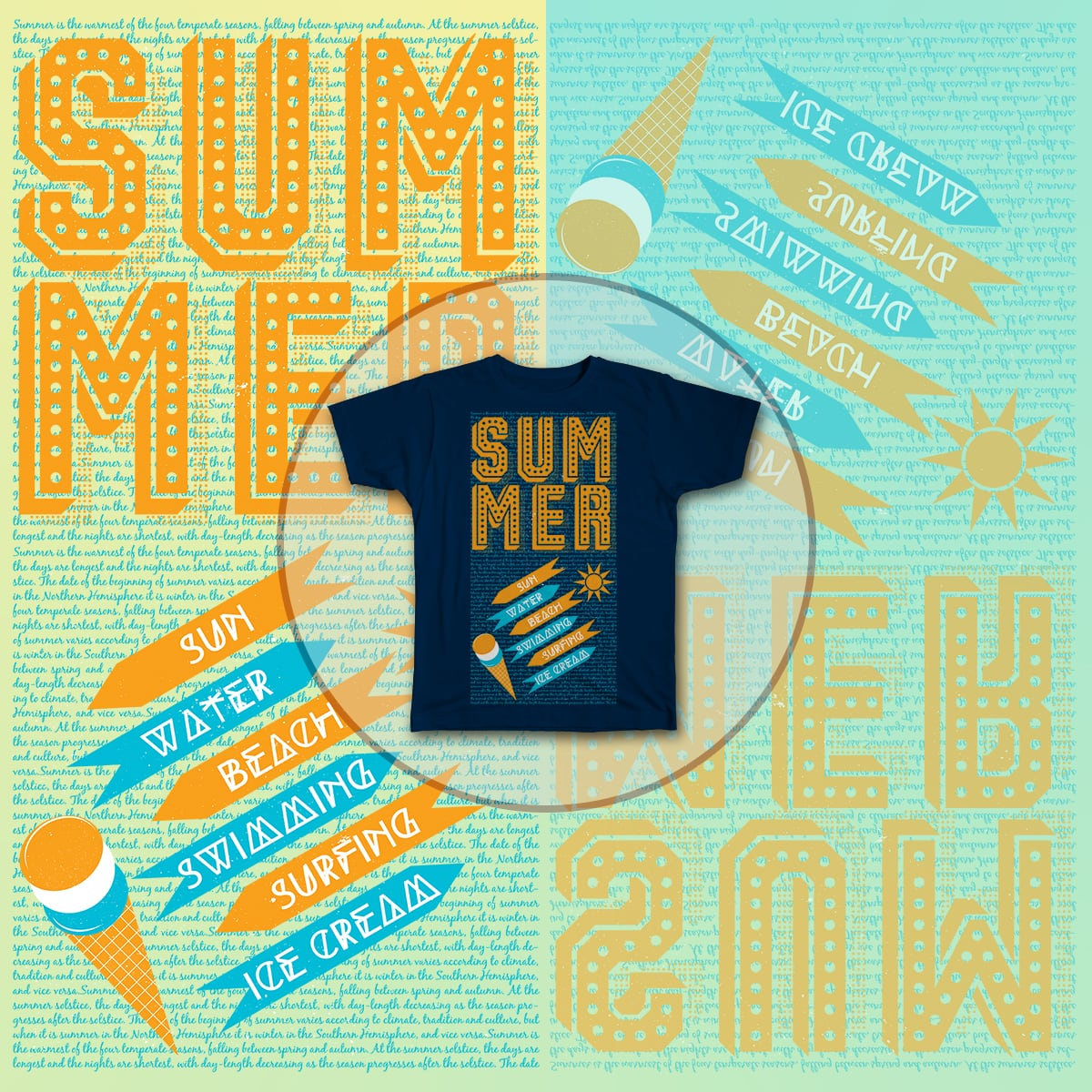 Oh Summer !! by famenxt on Threadless