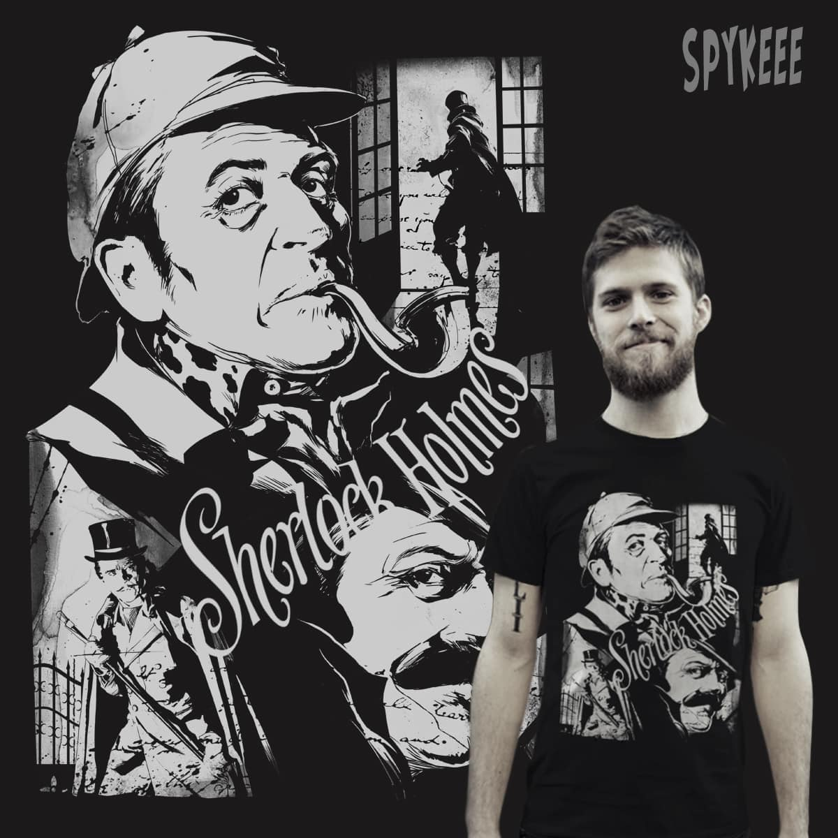 The curious case of De Niece by SPYKEEE on Threadless