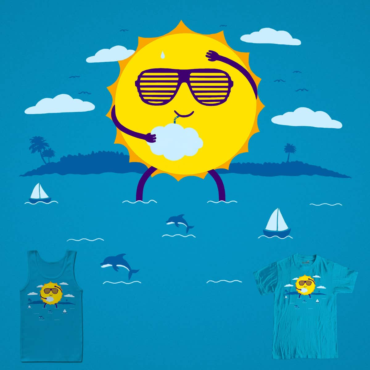 Hot Day by eikwox on Threadless