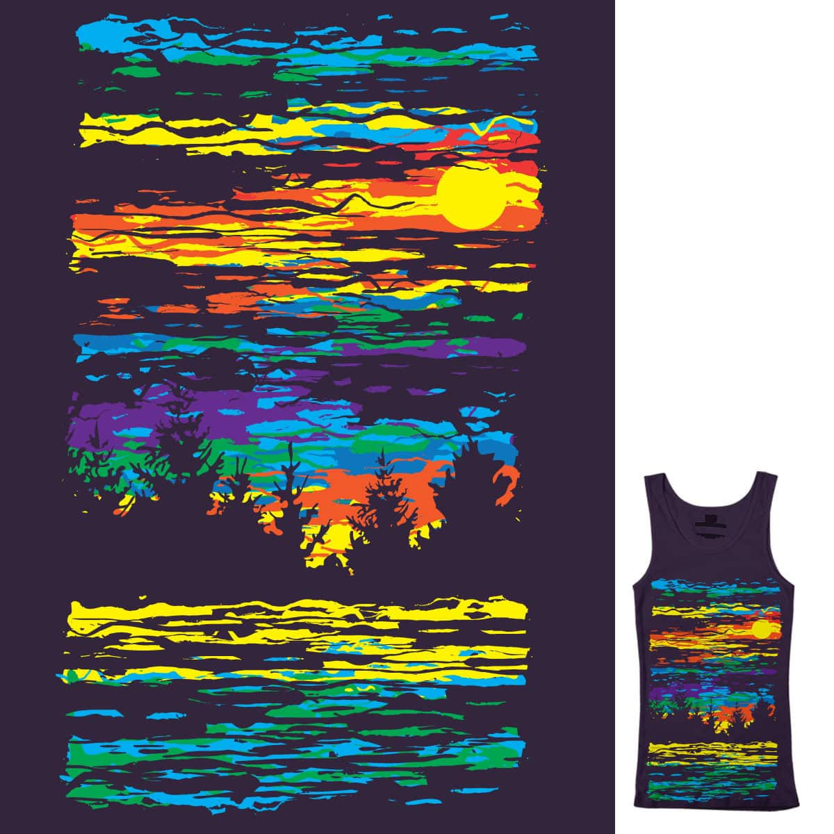 Abstract Sky by daletheskater on Threadless