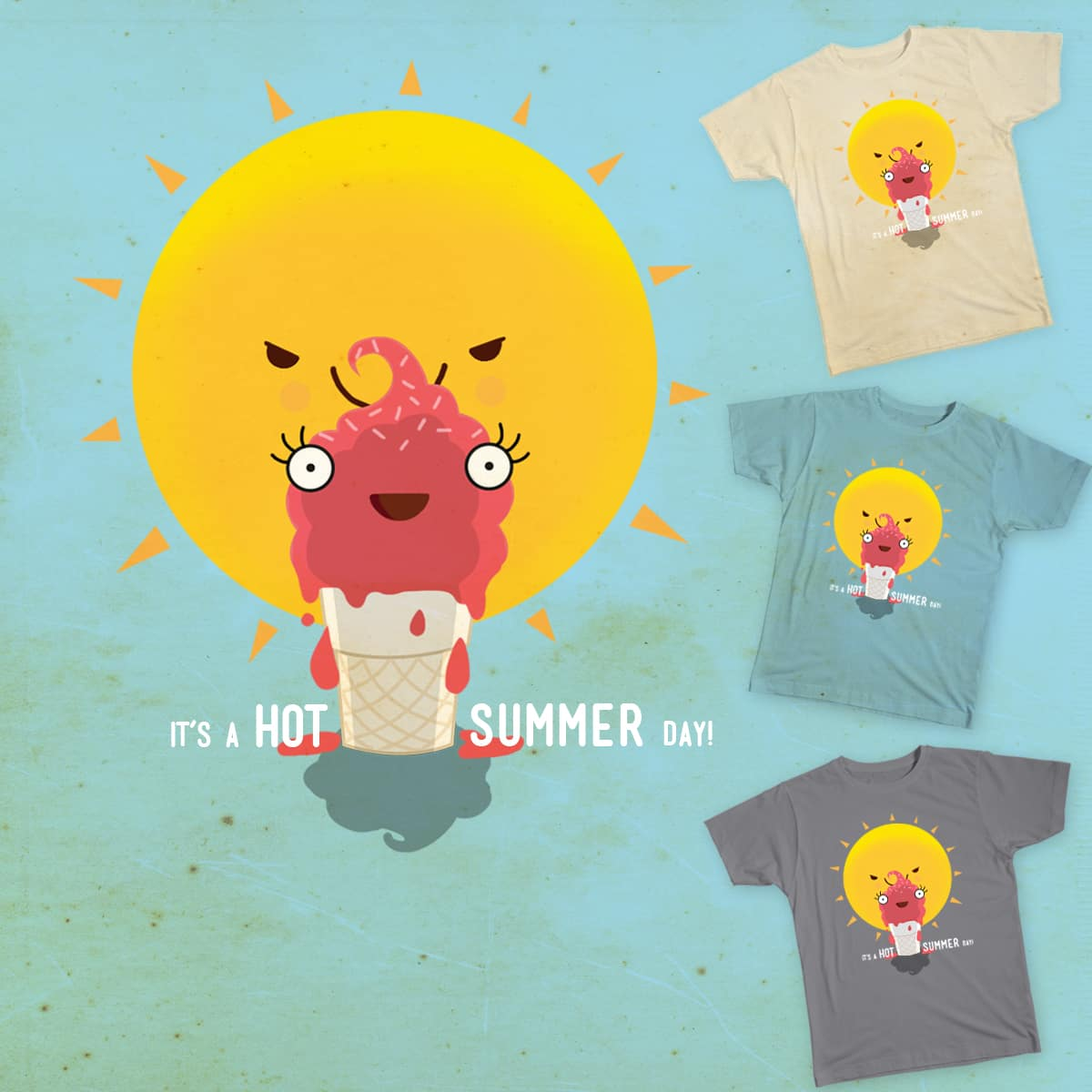Perfect time for Sunbathing! by Shirin Khara on Threadless