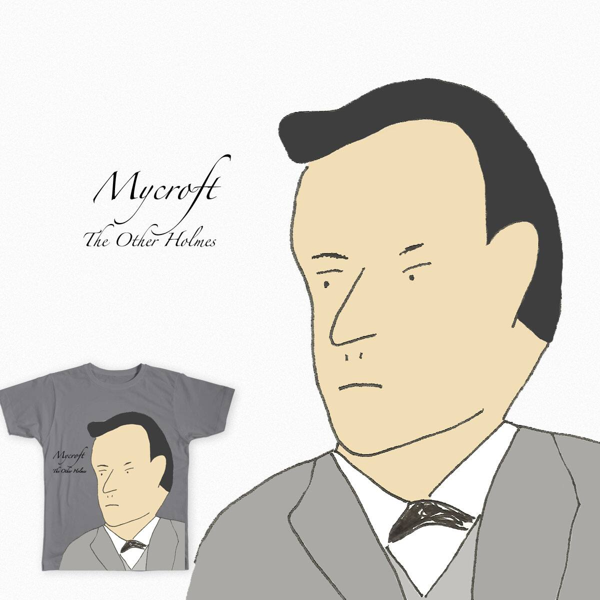 Sherlock's Brother Mycroft by cmschulz on Threadless