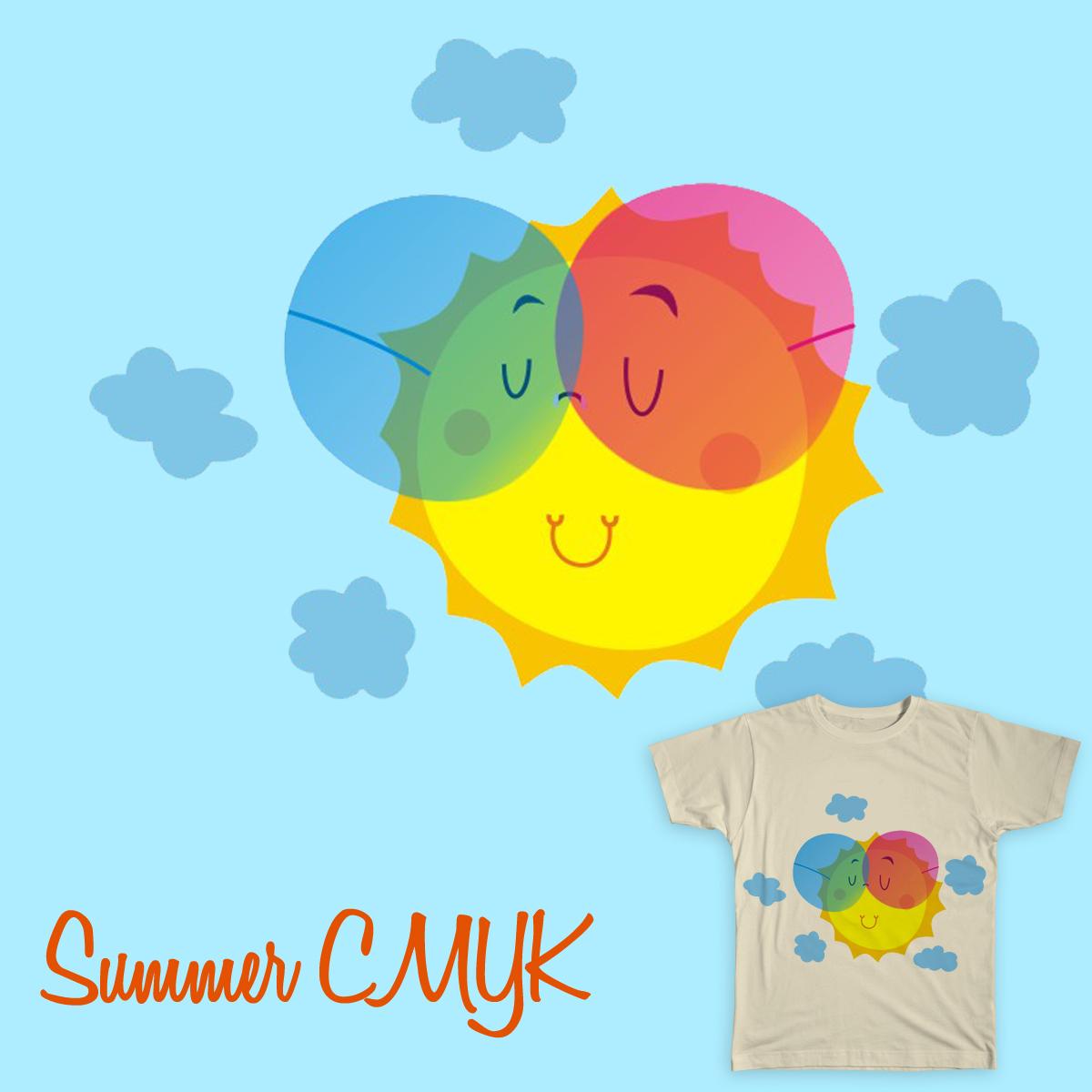 summerCMYK by latinlover on Threadless