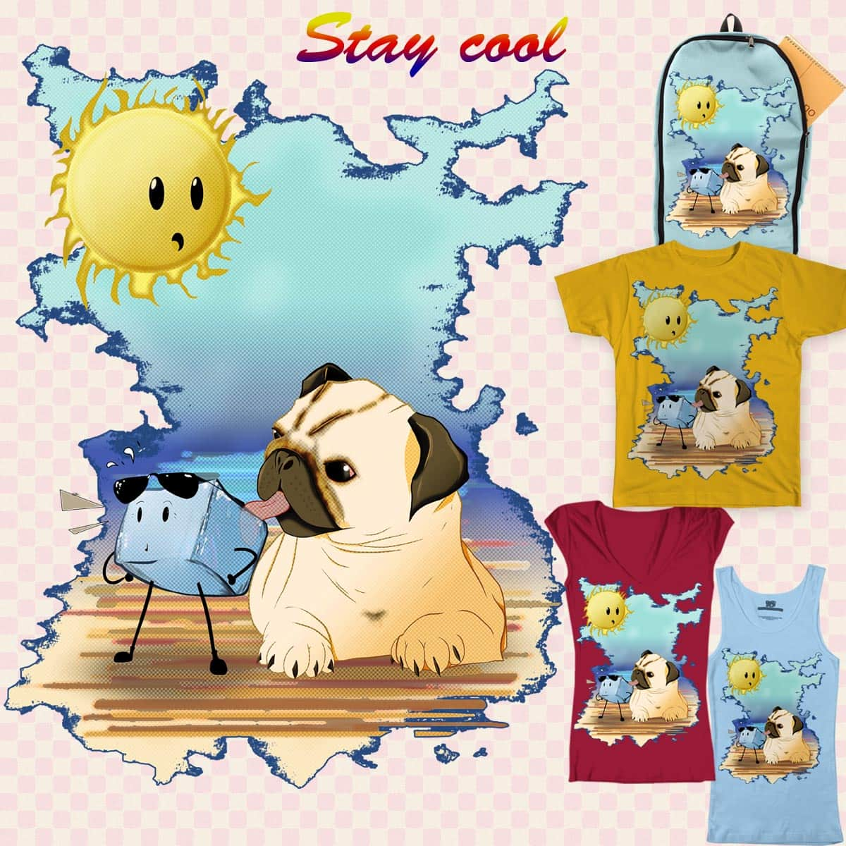 Stay Cool, Stay Chill by OliverDemers on Threadless