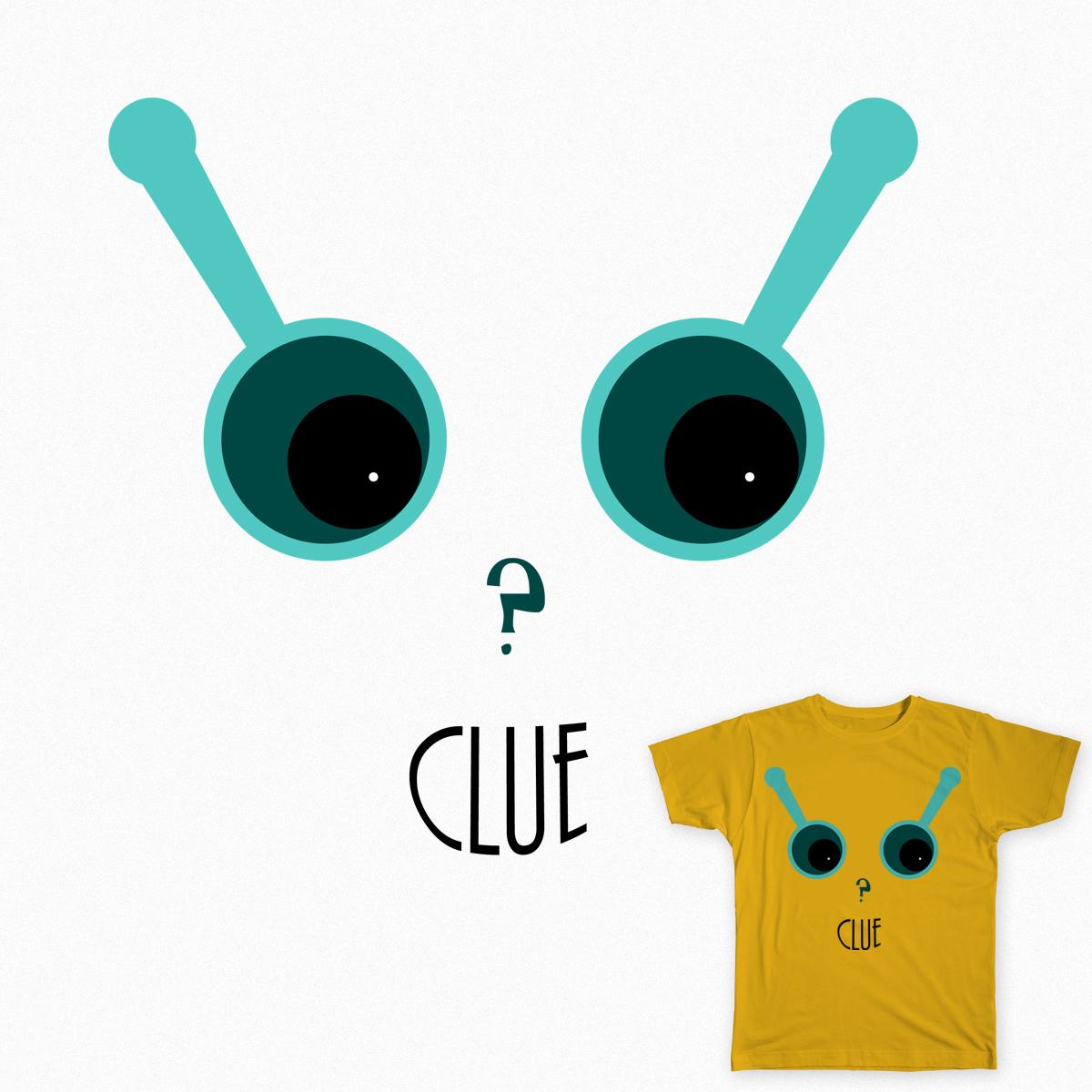 Clue! by wishurdesign on Threadless
