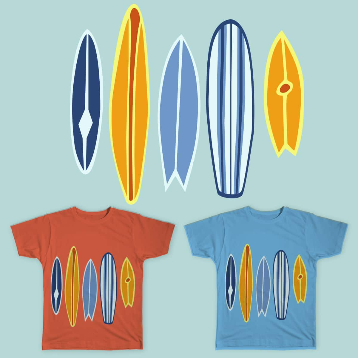 summer time by innasmirnova on Threadless