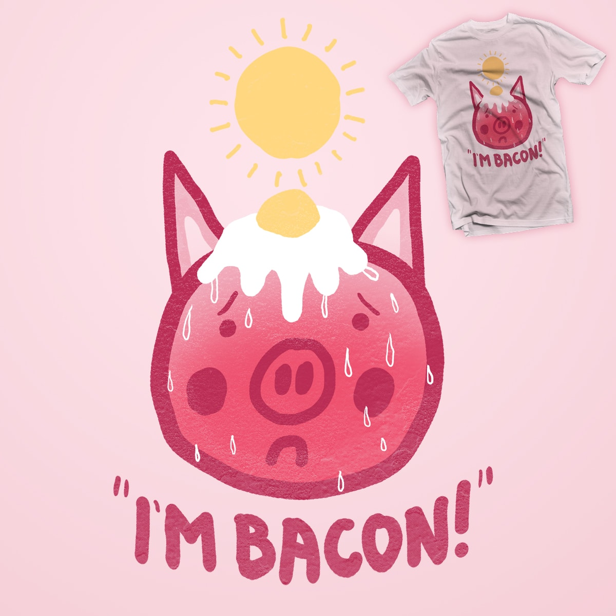 Too Hot by JIMDAHOUSECAT on Threadless