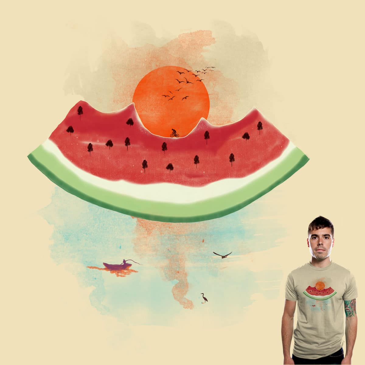Summer delights by bandy on Threadless
