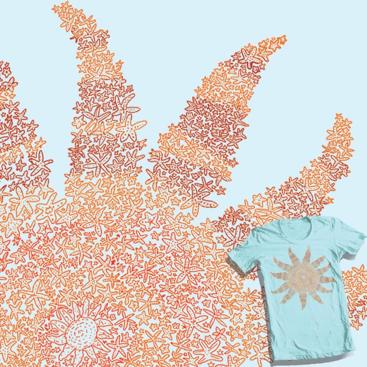 Sunstar by jackbounces on Threadless
