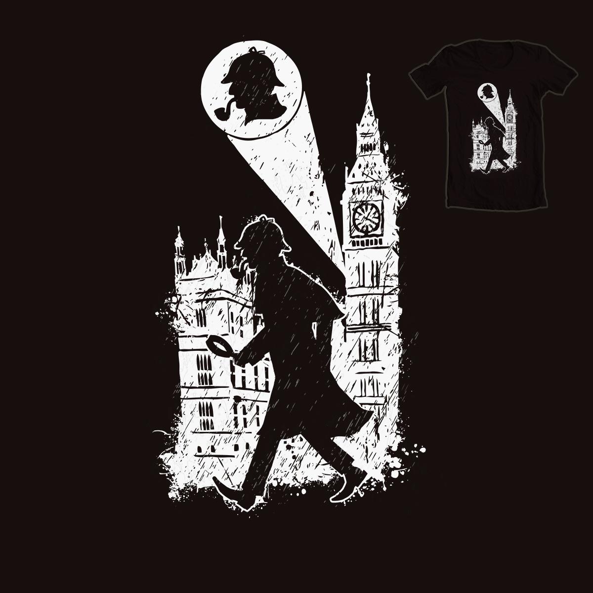 Sherlock Holmes by KONSTANTIN BRATISHKO on Threadless