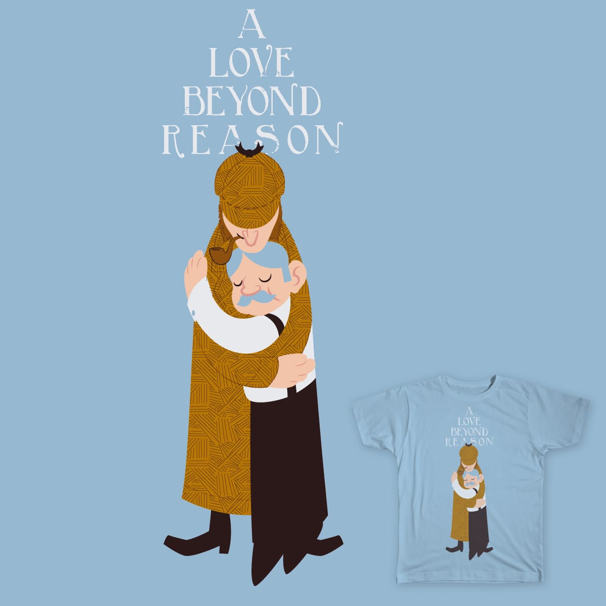 A Love Beyond Reason by ProfessorBrandon on Threadless