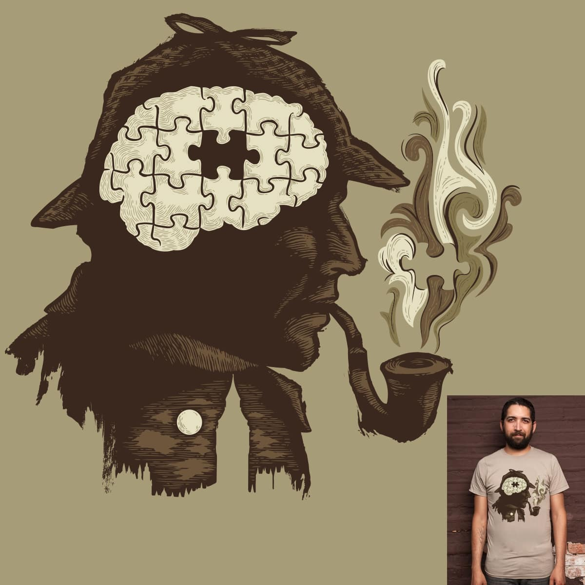 Puzzle Solved by cpdesign on Threadless