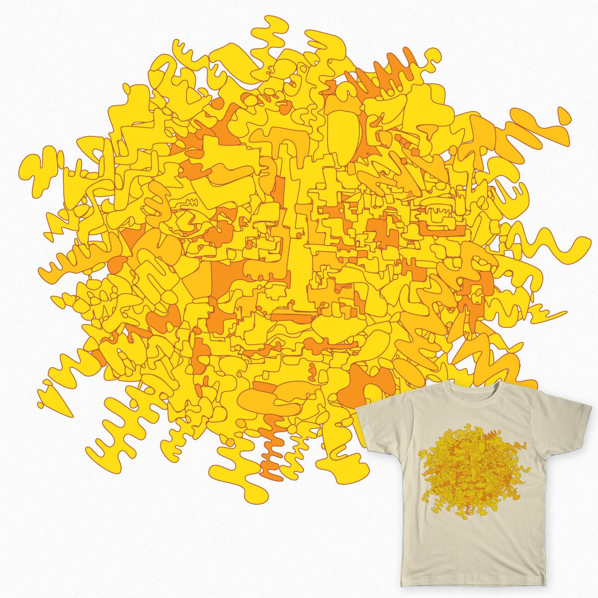 sun doodle by shmugavac on Threadless