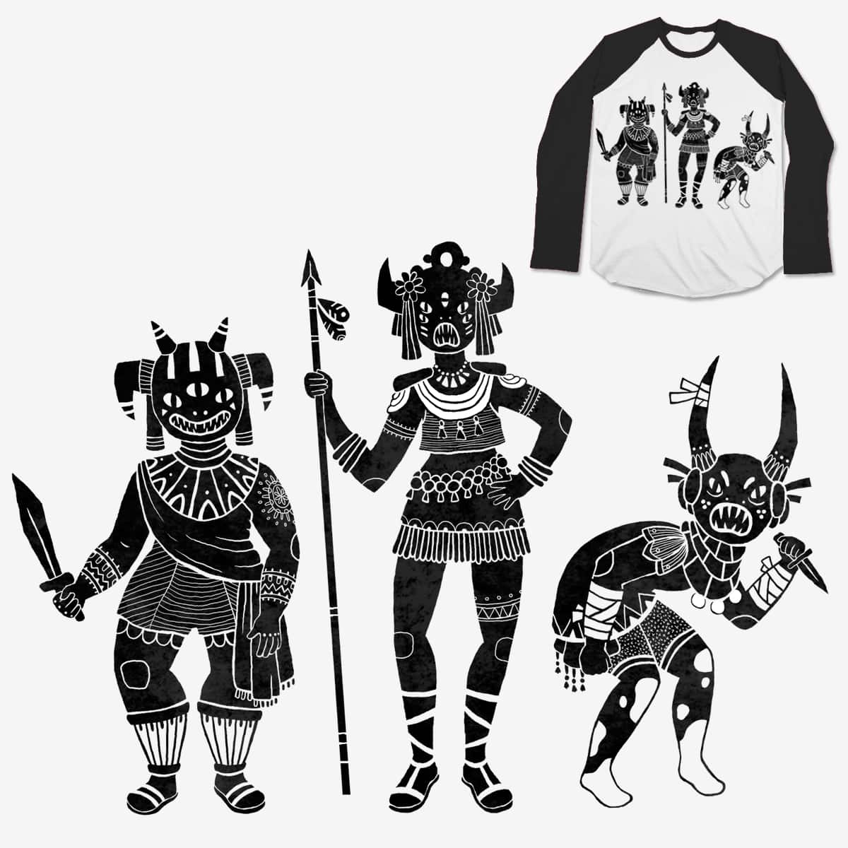 Shadow Warriors by lordofmasks on Threadless