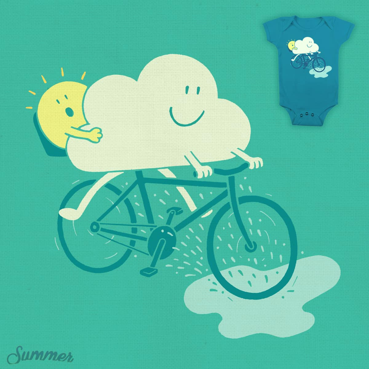 Weather Cycles by ThePaperCrane on Threadless