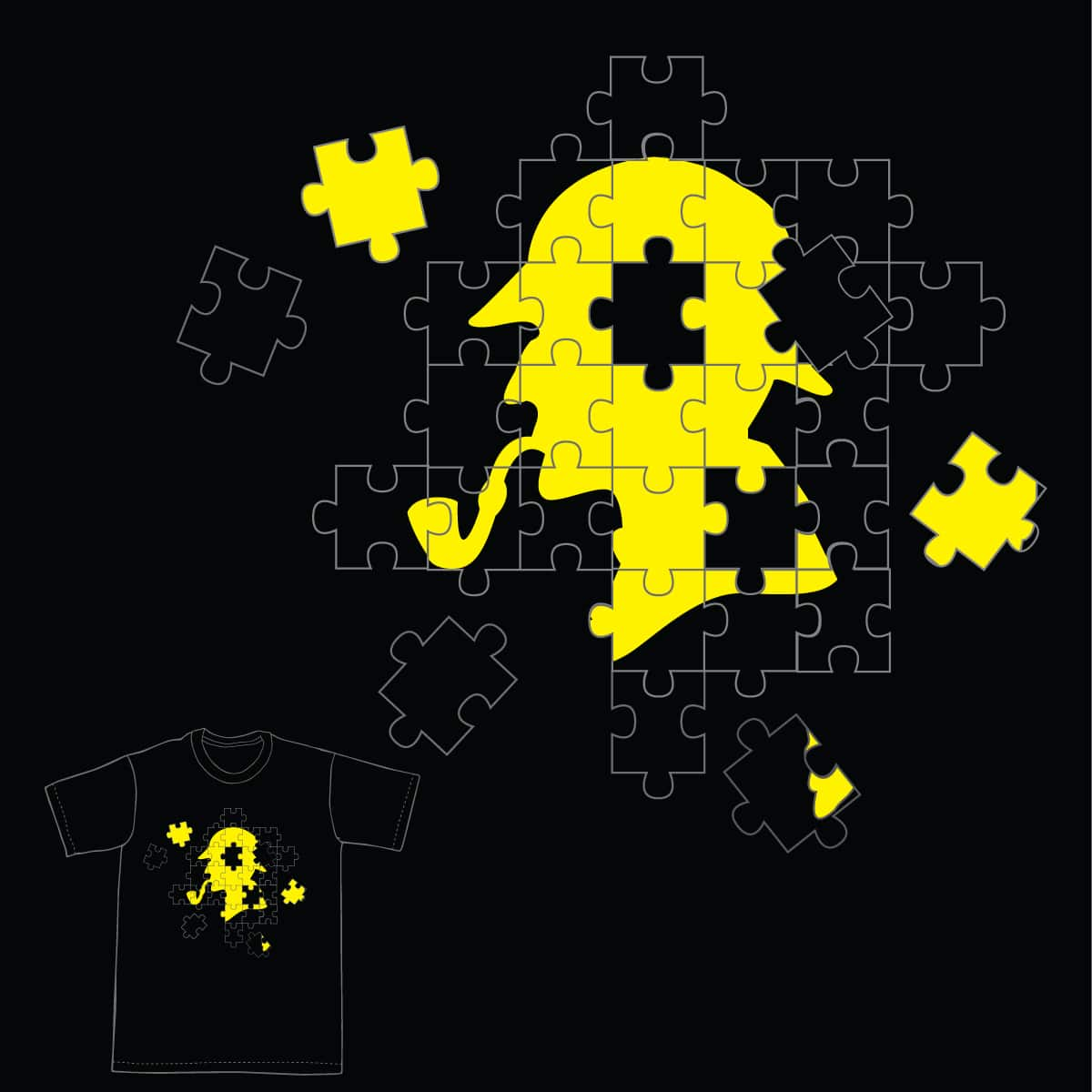 The Ultimate Puzzle by tratinchica on Threadless