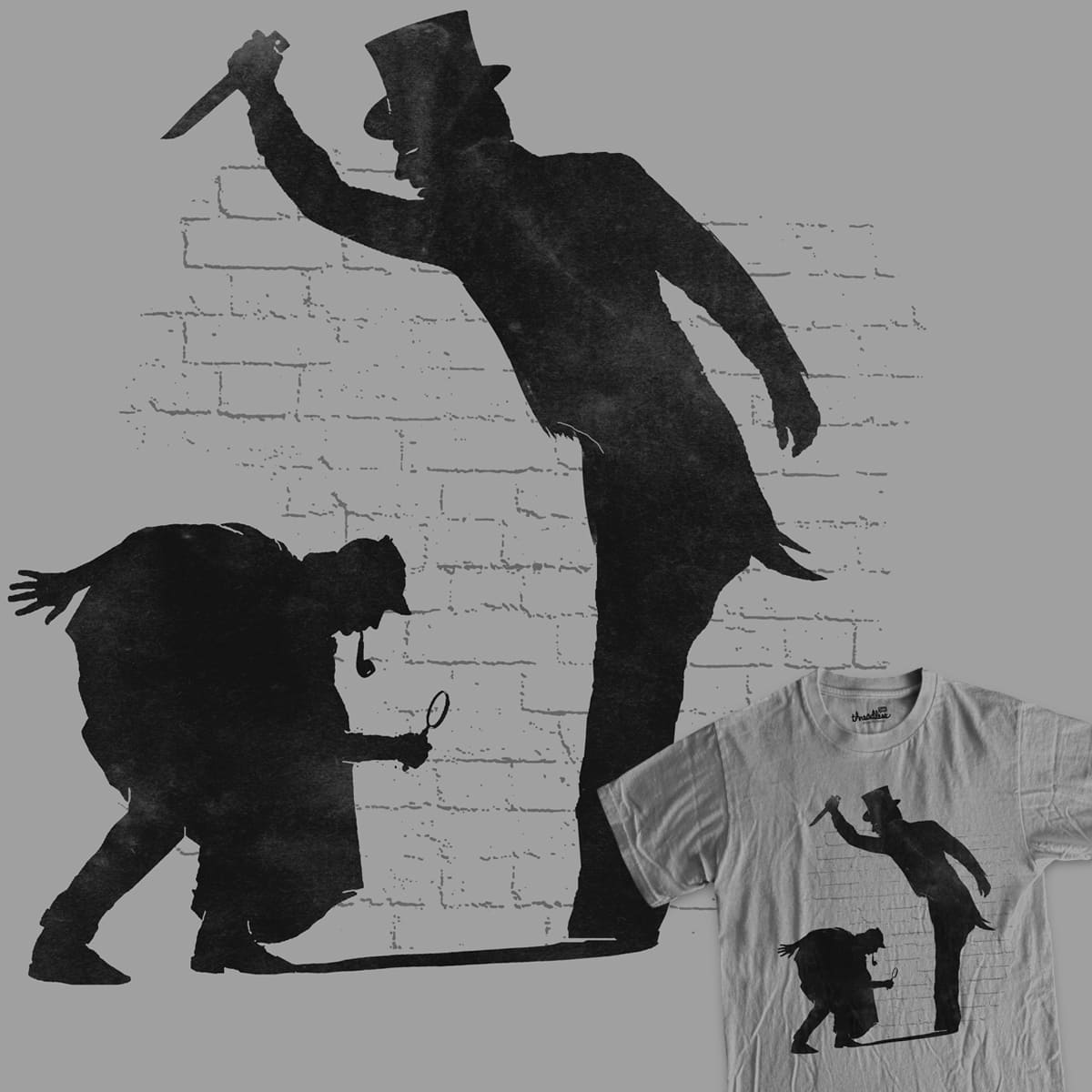 Following the shadows by RL76 on Threadless