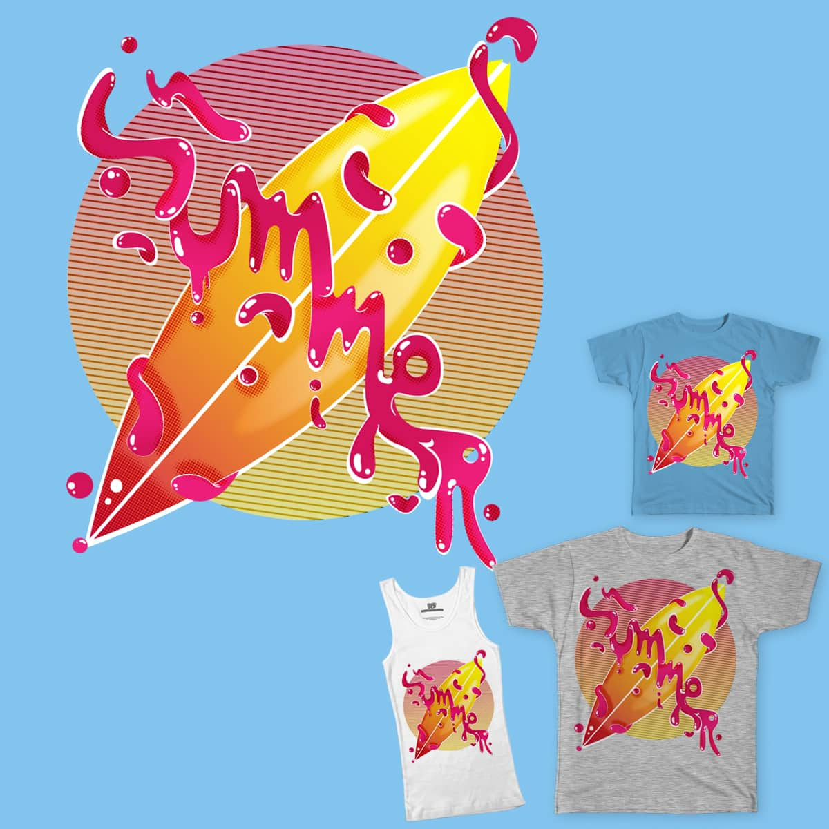 Sweet Summer by JoniWaffle on Threadless