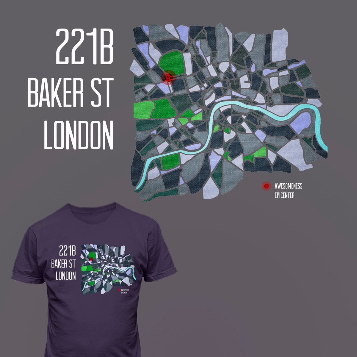 Awesomeness spot in London by mpaulberg on Threadless