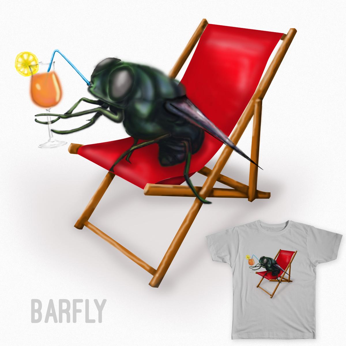BarFly by katecreates on Threadless