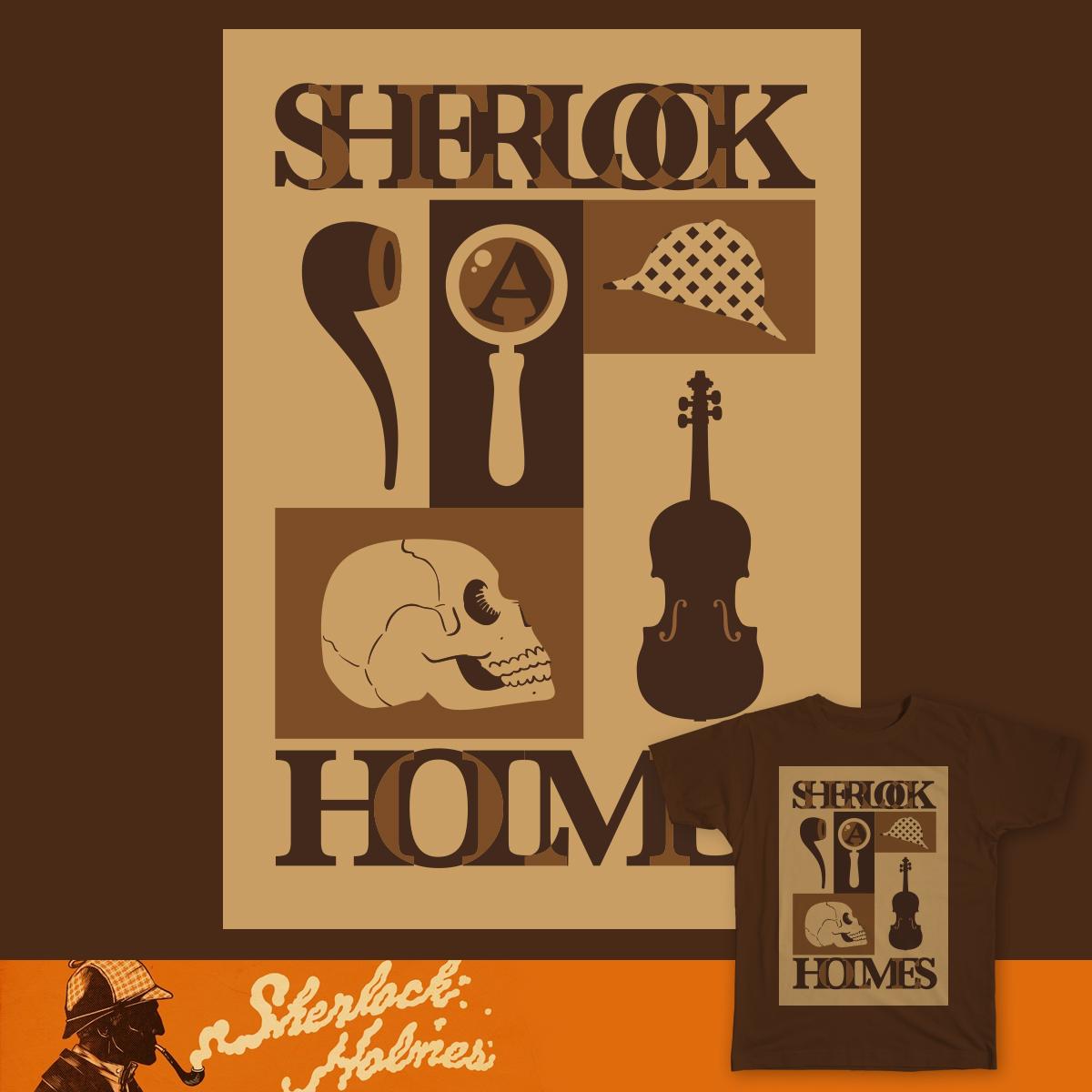 SHERLOCKS SCRAPBOOK by dreetsch on Threadless
