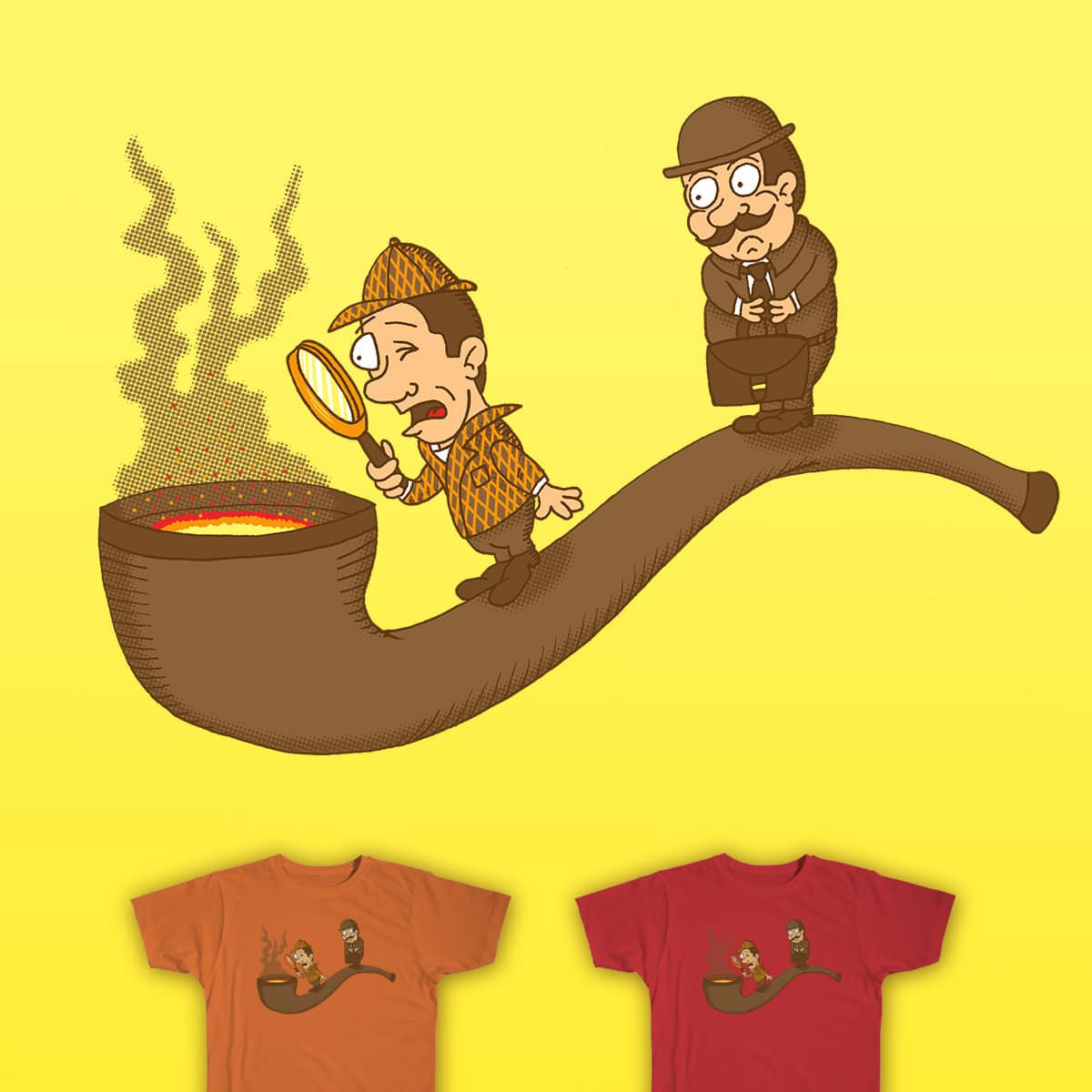 Hot On The Trail by SteveOramA on Threadless
