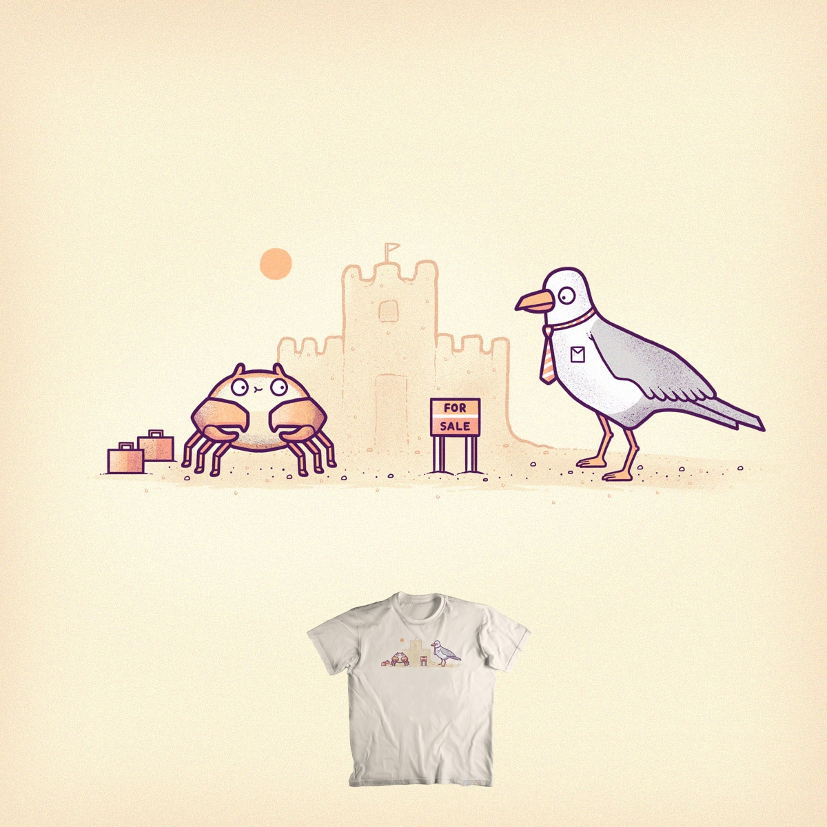 Seaside home by randyotter3000 on Threadless