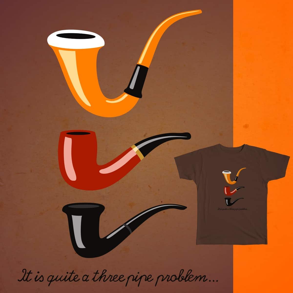 Fifty Minutes by loopqool on Threadless