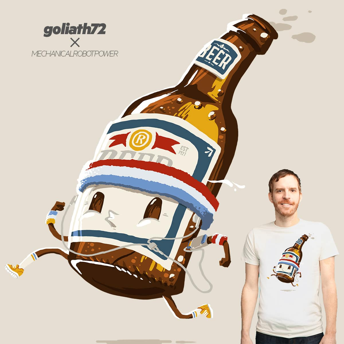 Beer Run by fightstacy and goliath72 on Threadless