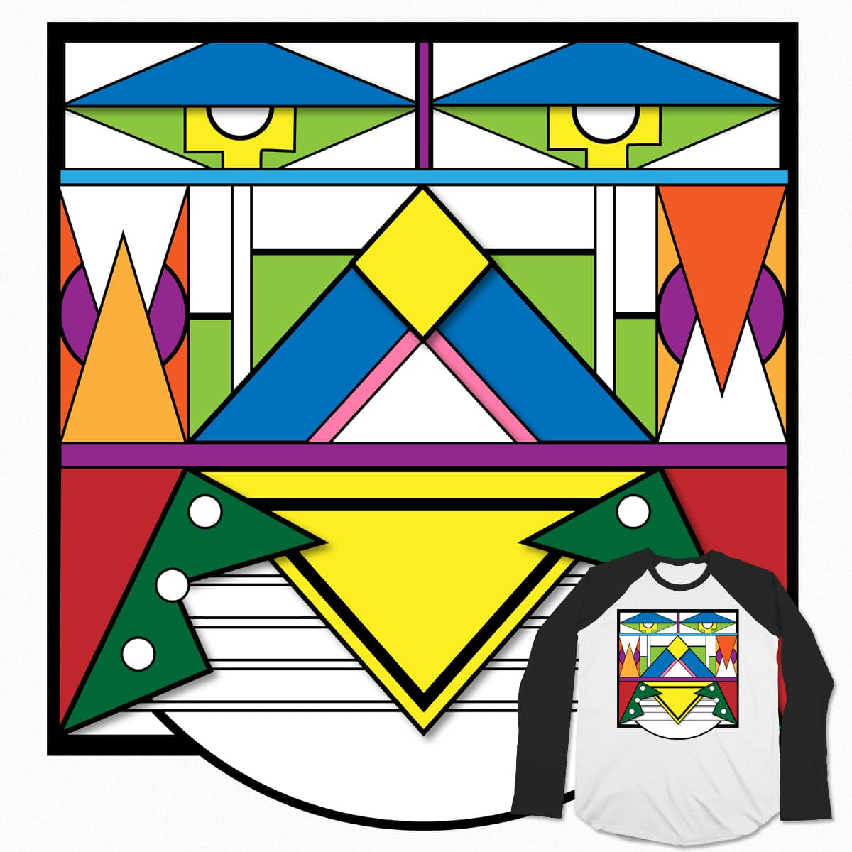 Ndebele Transformer by Astrovix on Threadless