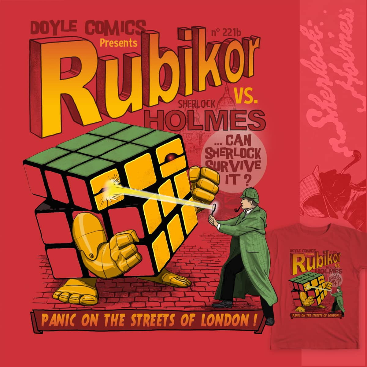 Rubikor by r-v on Threadless