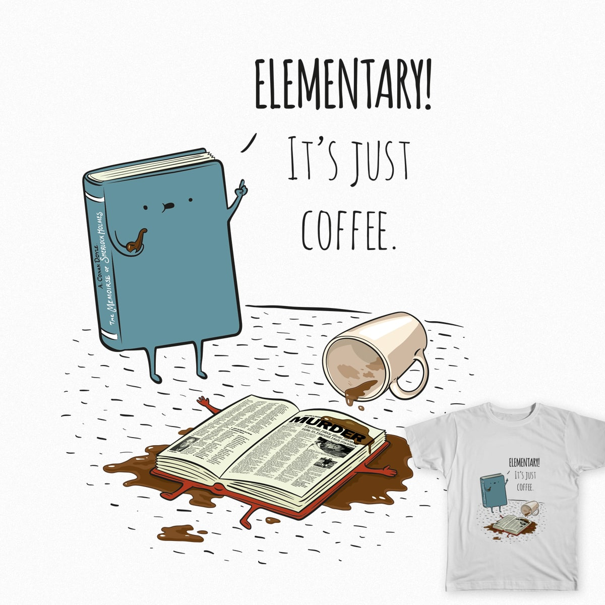 Elementary! by Vera_Ae on Threadless