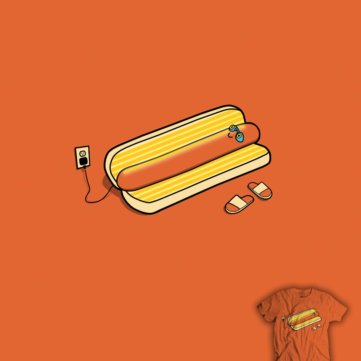 Cooking Up A Tan by davidfromdallas and DustinTaylor on Threadless