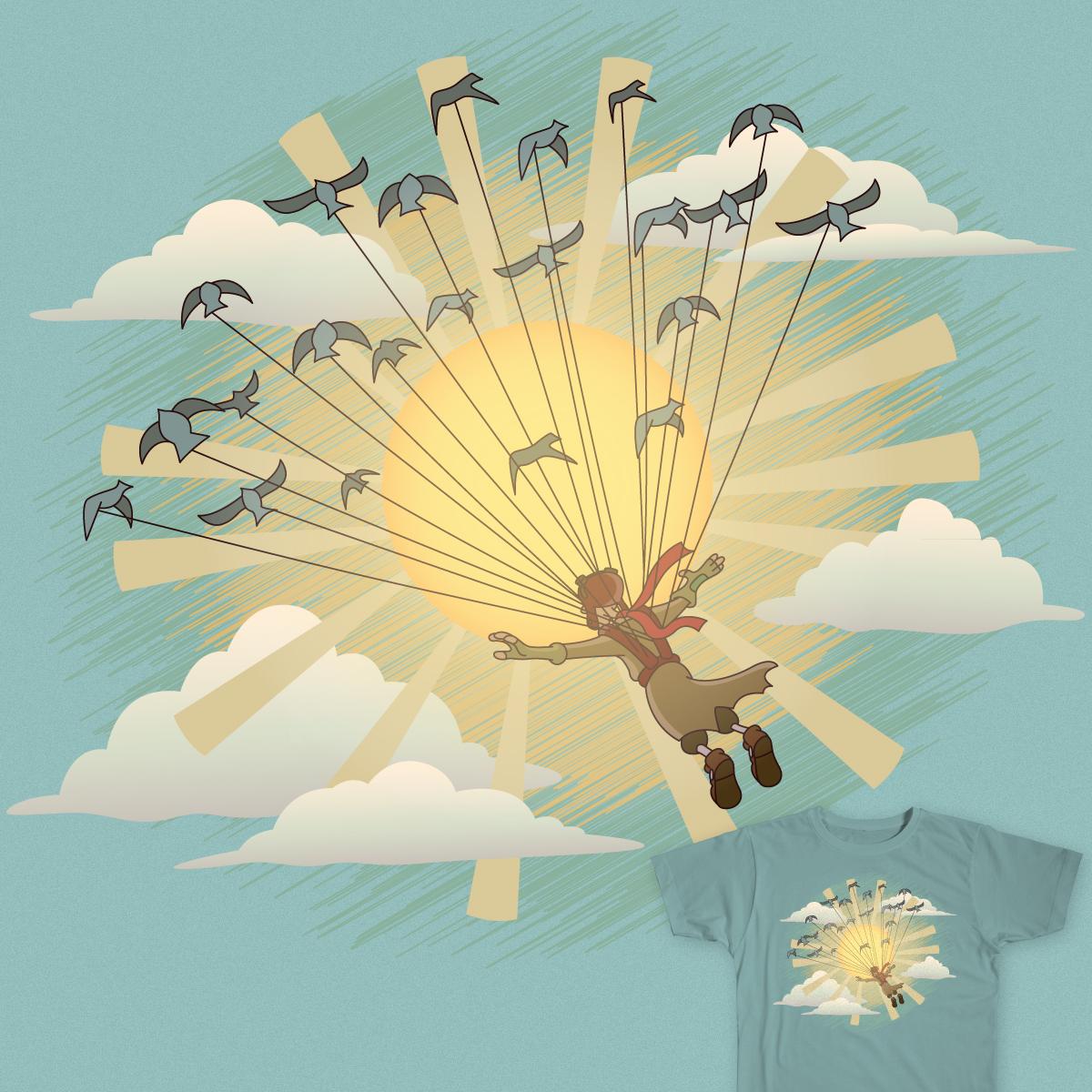 Fly Toward The Sun by Kyle Frisch on Threadless