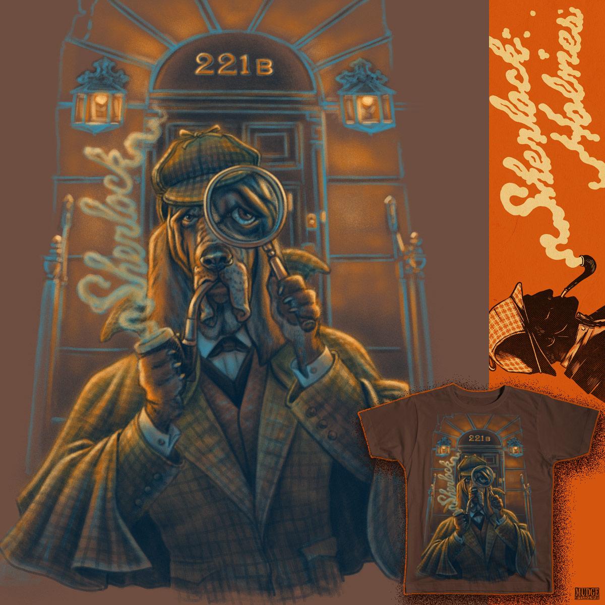 Sherlock Holmes Hound by MudgeStudios on Threadless