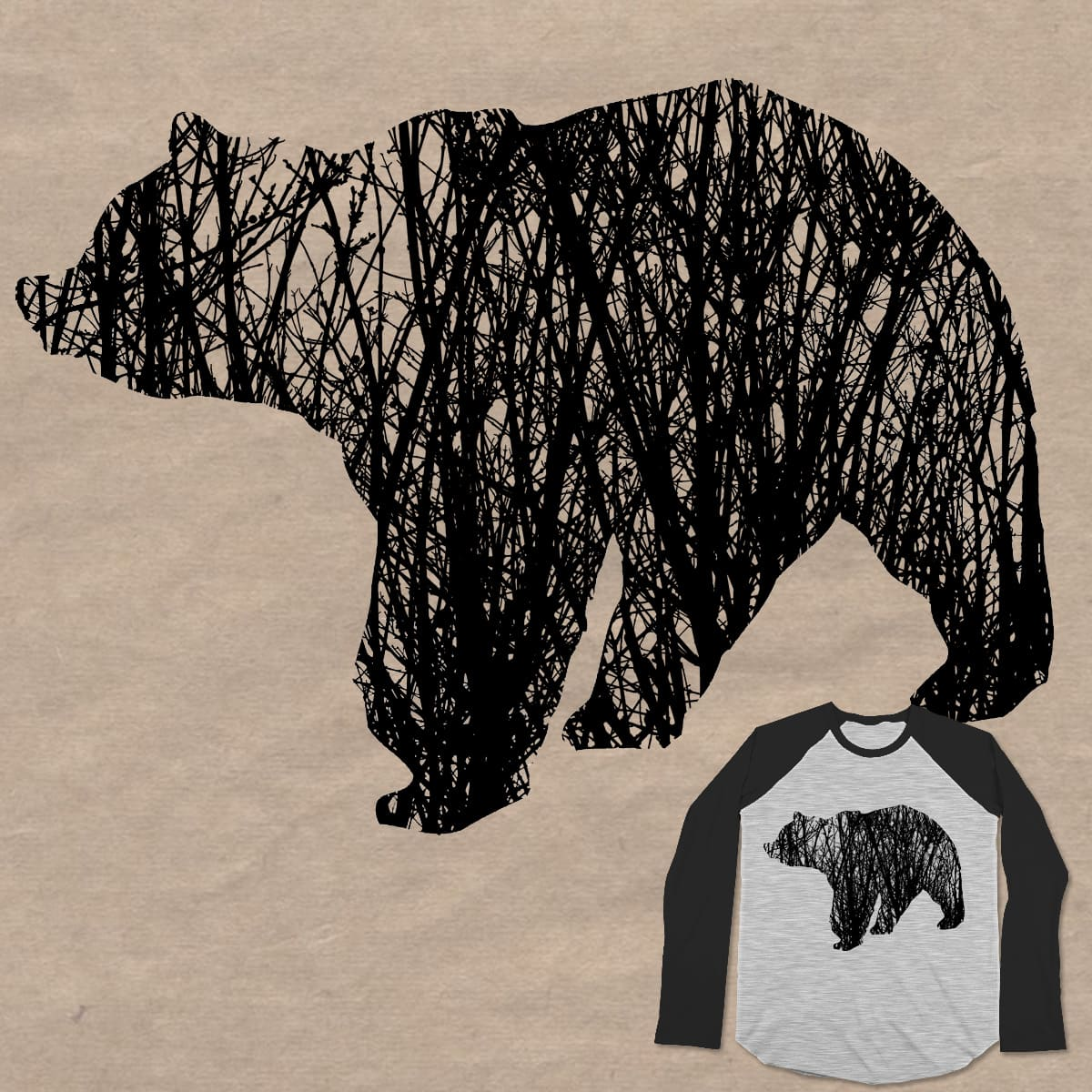 Fear the Bear by Loremnzo on Threadless