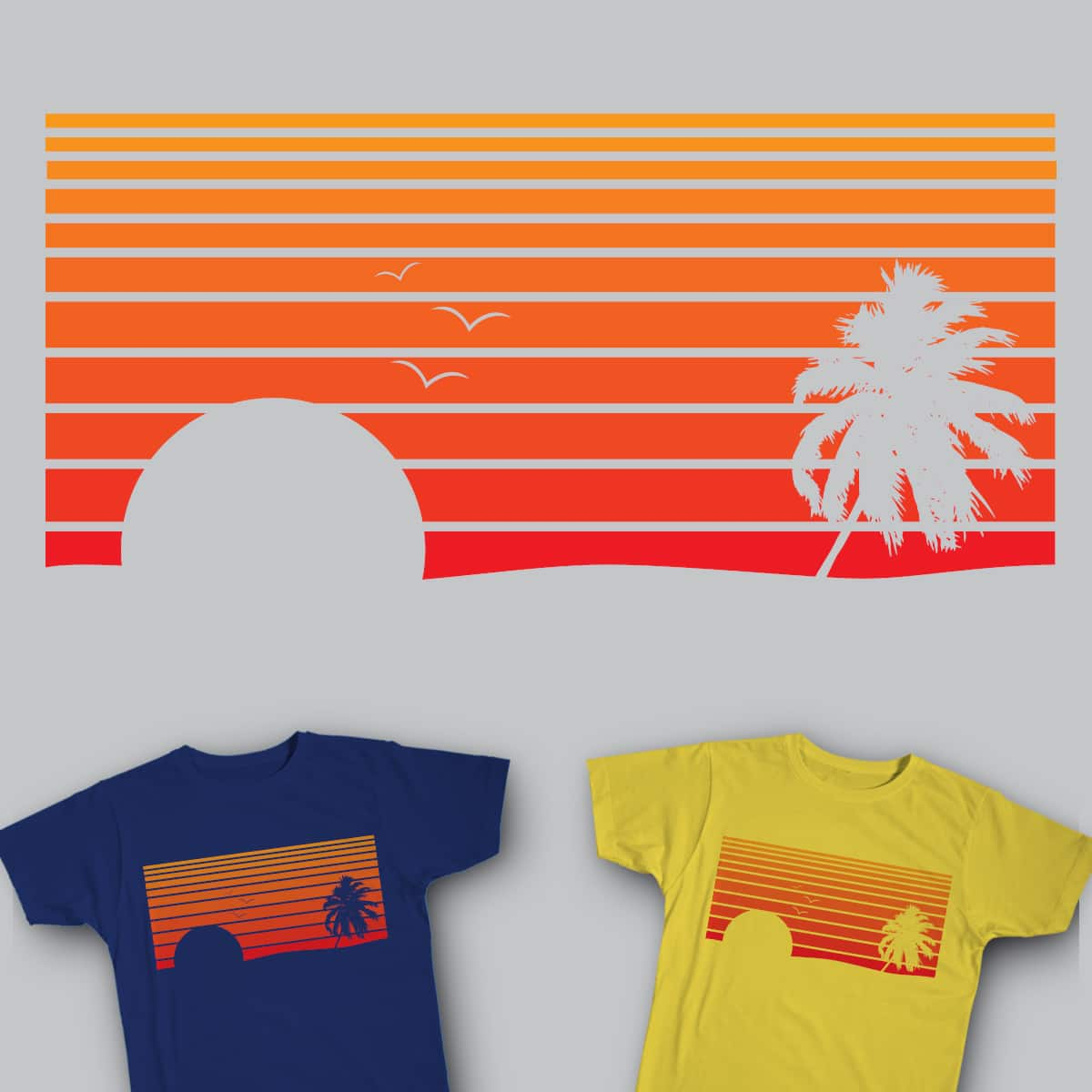Sunset by Arturoml92 on Threadless